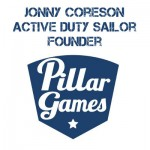 Episode 64: Jonny Coreson, Founder Pillar Games, Active Duty Sailor, US Navy