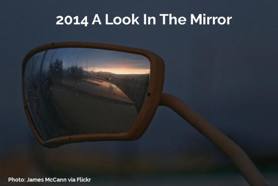2014 A Look In The Rear View Mirror